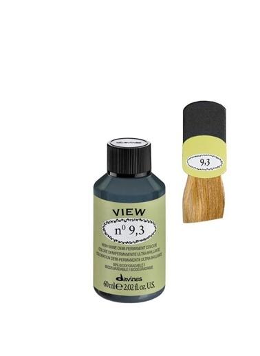 Davines Davines View Yarı Kalıcı Saç Boyası 9,3 Çok Açık Altın Kumral 60 Ml Renksiz